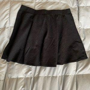 Joe B textured skater skirt